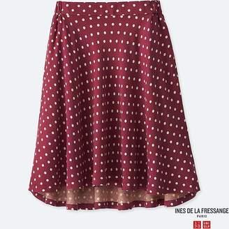 Uniqlo Girl's Rayon Flare Skirt (ines De La Fressange)