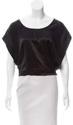 Madison Marcus Dolman Sleeve Silk Top