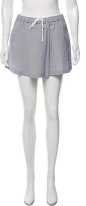 Thakoon Striped Mini Shorts