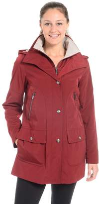 Fleet Street Women's A-Line Stadium Jacket