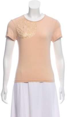 Versace Medusa Knit T-Shirt