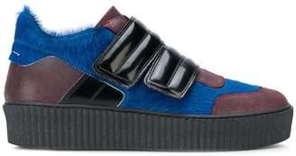 MM6 MAISON MARGIELA touch strap platform sneakers