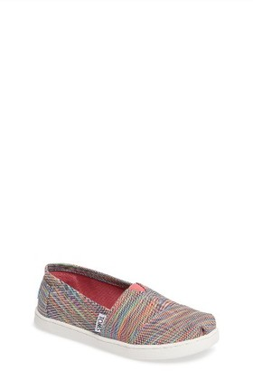 Girl's Toms Classic Print Slip-On $31.95 thestylecure.com