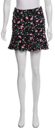 Veronica Beard Silk Mini Skirt