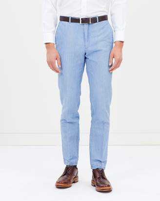 Polo Ralph Lauren Straight-Fit Chambray Trousers
