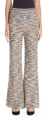 Missoni Knit Flare Pants