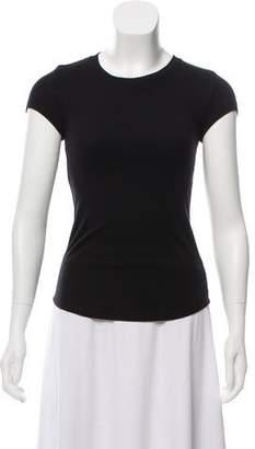 Rebecca Minkoff Rib Knit Short Sleeve T-Shirt