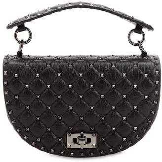 Valentino Spike Crackled Bag