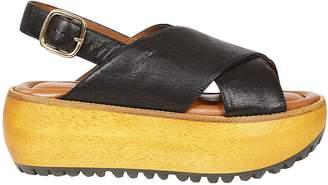 Marni Fussbett Platform Sandals