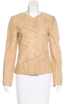 Chanel Suede Patchwork Jacket