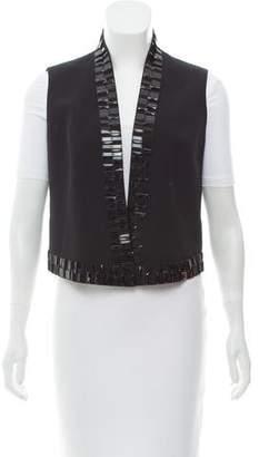 Akris Embellished Wool Vest w/ Tags
