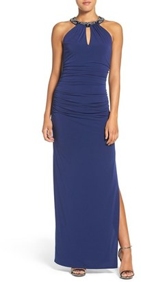Laundry by Shelli Segal Beaded Neck Gown $295 thestylecure.com