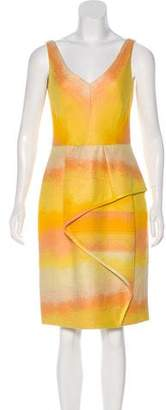 Lela Rose Knee-Length Ombré Dress