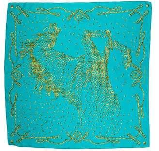 Hermes Cheval de Légende Silk Scarf