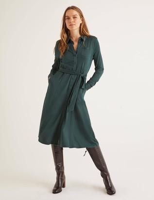 Boden Susannah Jersey Shirt Dress