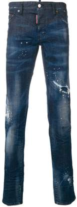 DSQUARED2 faded Slim jeans