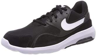 Nike Women's WMNS Air Max Nostalgic Competition Running Shoes, (Black/White 001)