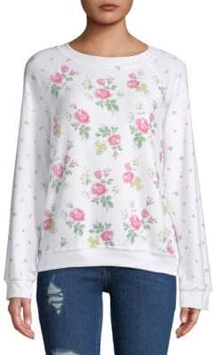 Wildfox Couture Floral-Print Sweatshirt