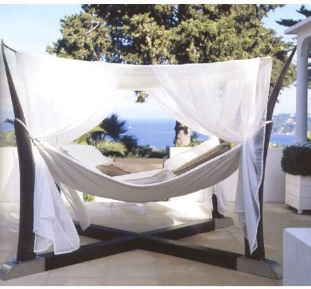 Royal Botania - kokoon free standing hammock by oliver le pensec for royal botania