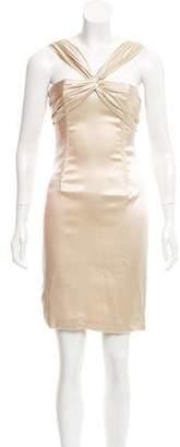 Dolce & Gabbana Silk Bodycon Dress