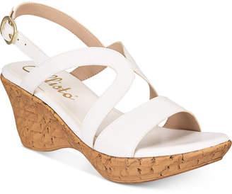 Callisto Pomfret Platform Wedge Sandals, Created for Macy's Women's Shoes