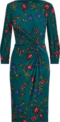 Ralph Lauren Knotted Jersey Dress