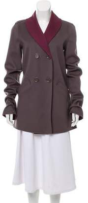 Loro Piana Wool Colorblock Coat
