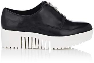 Opening Ceremony WOMEN'S ZIP-FRONT LEATHER PLATFORM OXFORDS