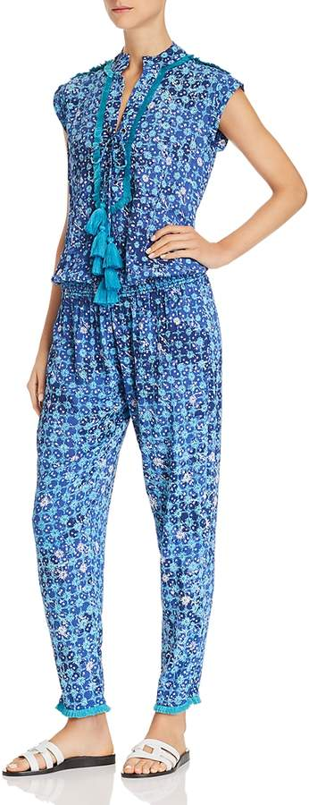 St. Barth Donna Printed Jumpsuit