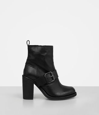 Zadie Heeled Shearling Boot $348 thestylecure.com