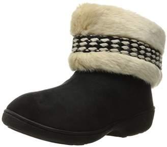 Isotoner Women's Erica Microsuede Boot Slippers