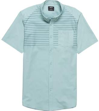 Oakley Top Stripe Woven Short-Sleeve Shirt - Men's