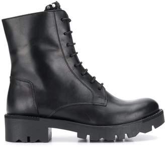 Tosca sequin embellished biker boots