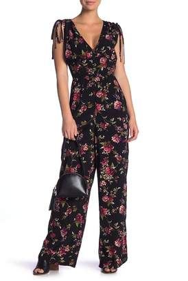 Band of Gypsies Ruby Floral Jumpsuit