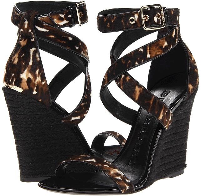Burberry Raglan Women' Wedge Shoe