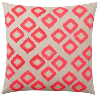 Pottery Barn Teen Diamond Sequin Euro Pillow Cover, Tangerine