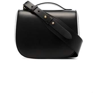 Simone Rocha black leather cross body bag