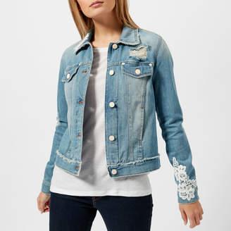 Love Moschino Women's Embellished Denim Jacket
