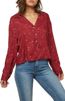 O'Neill Drake Star Print Woven Shirt