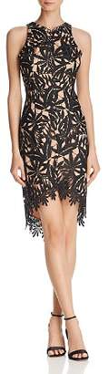Adelyn Rae Neve High/Low Lace Dress