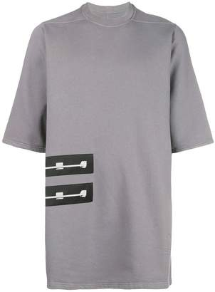Rick Owens patch-detail short sleeve T-shirt