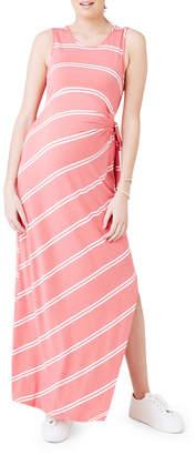 Side Tie Maxi Dress