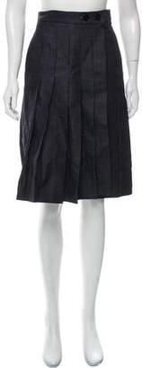 Victoria Beckham Denim Wrap Skirt w/ Tags