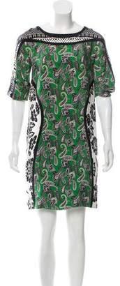 Etro Printed Silk Dress w/ Tags