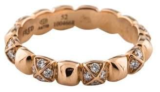 Pain De Sucre Fred of Paris 18K Diamond Célébration Ring