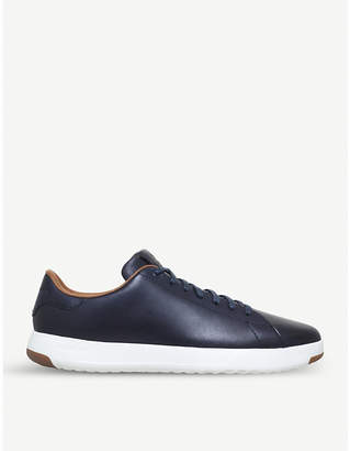 Cole Haan Grandpro leather tennis trainers