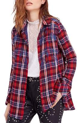 Free People Magical Plaid Shirt