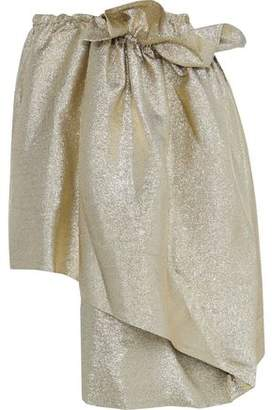 Stella McCartney Layered Lame Skirt