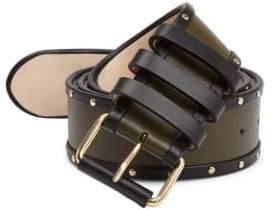 Balmain Ceinture Leather Casual Belt