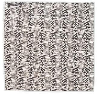 Marc Jacobs Woven Zebra Print Scarf